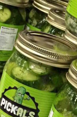 all natural gourmet garlic dill pickles