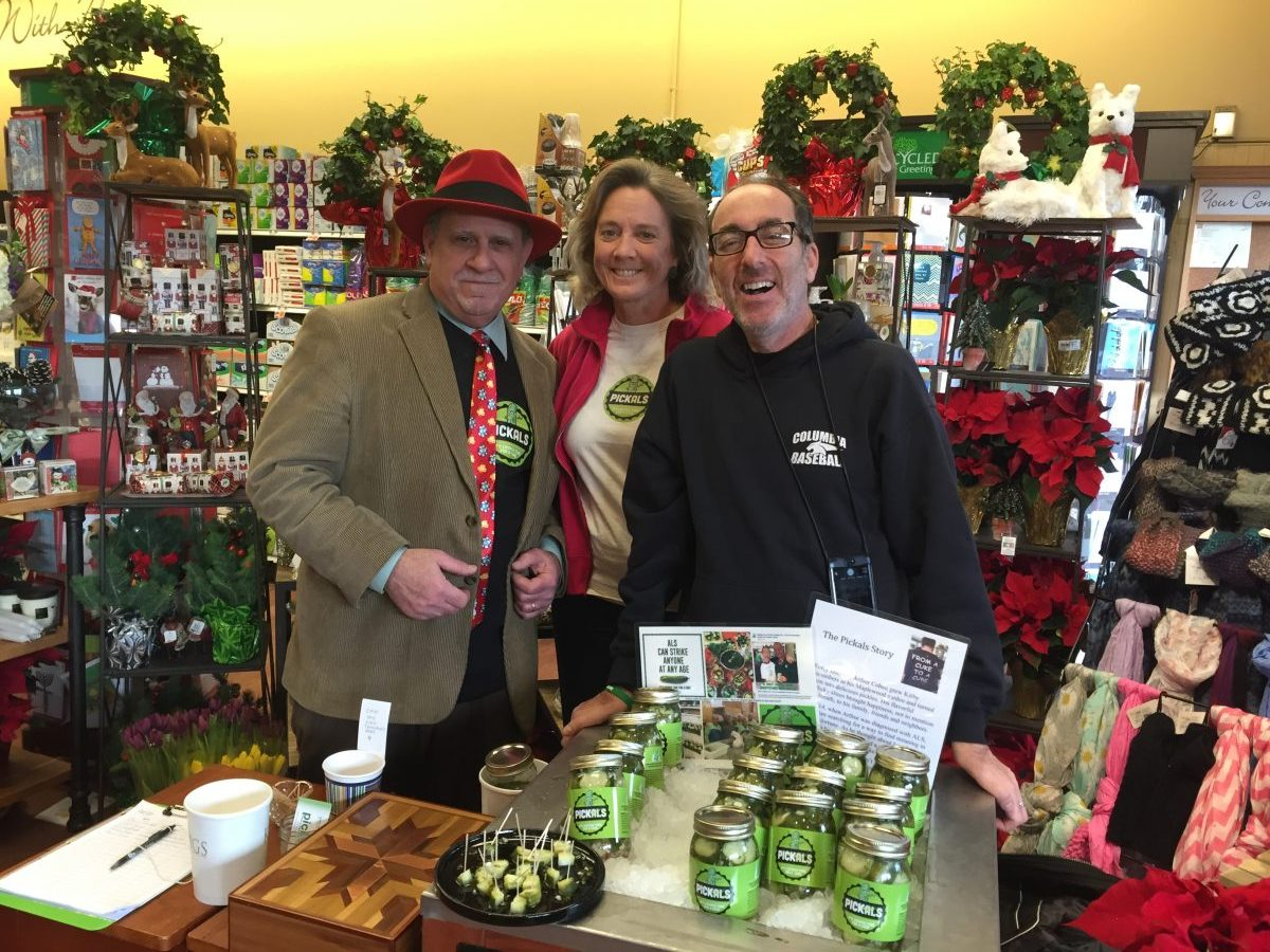 Kings Food Markets gourmet pickles for ALS