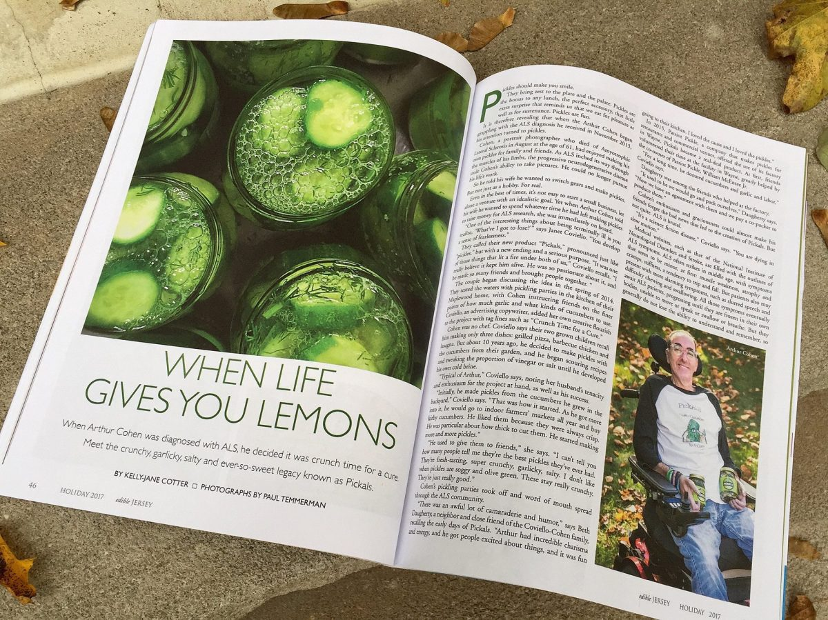 Pickals in the press - learn about the pickle that everyone